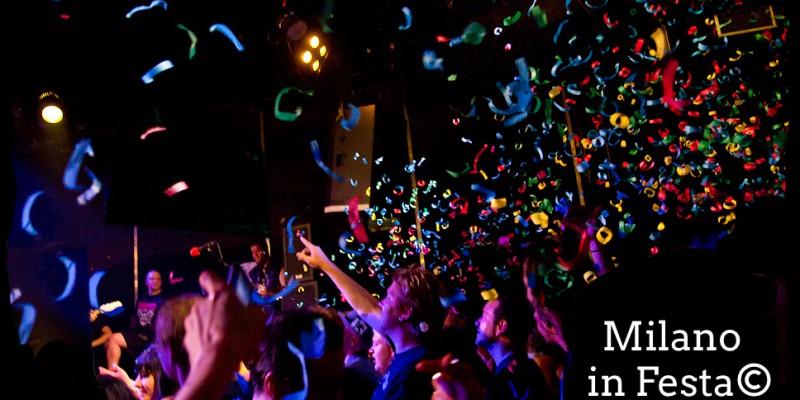 Festa in discoteca a Milano