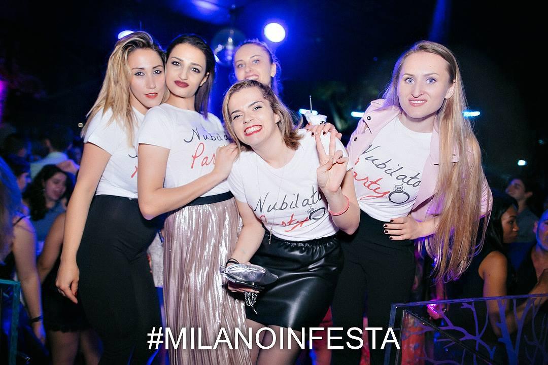 Festa Addio al Nubilato in Discoteca a Milano